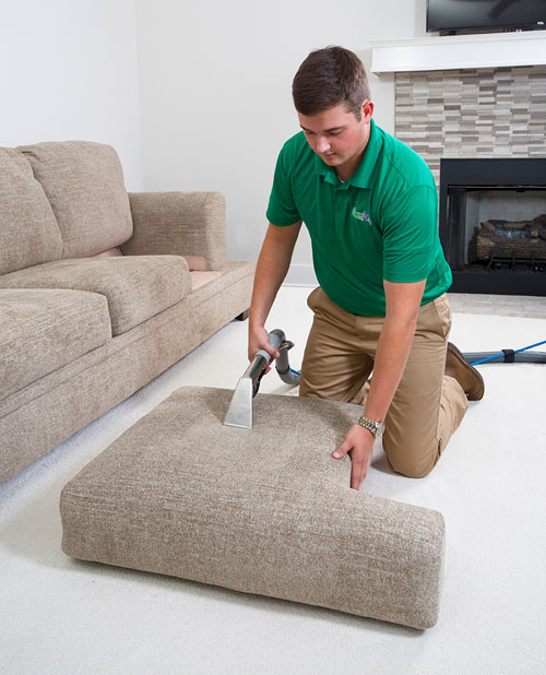 Our Upholstery Cleaning removes 98% of allergens from upholstery!