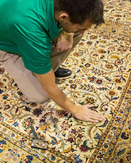 Professional Area and Oriental Rug Cleaning by Chem-Dry of Central Illinois